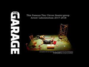 "Workshop ""Actors' Laboratorium"" στο studio The Garage"