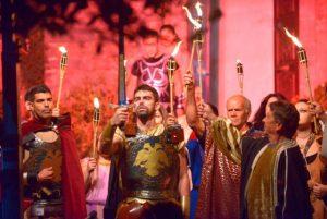 Ο «Διγενής Ακρίτας» από την Θεατρική Ομάδα της Μητρόπολης στο Αμφιθέατρο του Τ.Ε.Ι. Κρήτης