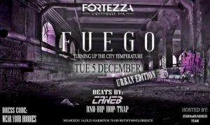 Fuego party στο Fortezza Lighthouse Bar