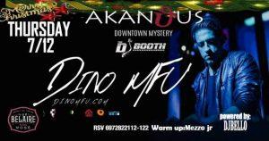 O DJ DINO MFU στο Akanthus Club