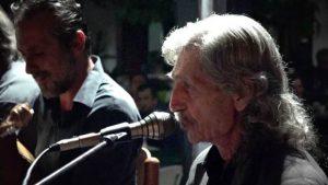 Ο Νικηφόρος Αεράκης και ο Γιώργος Βρέντζος (Κάτης) στο Κέντρο Μύθος