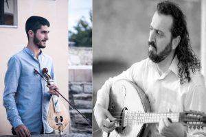 Ο Κωστής Ανδρεδάκης & ο Γιώργος Κατσουλιέρης στην Ταβέρνα Πόπη