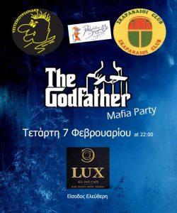 Mafia party στο Lux Cafe