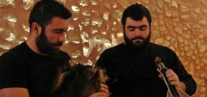 Ο Γιώργος Βρανάς και ο Γιάννης Μιχάλας στο Beach Bar Scopas