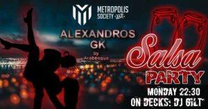 Salsa and Zumba Party στο Metropolis Society Bar