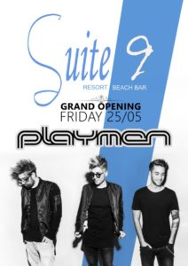 Grand opening party στο Suite 9 με τους Playmen!