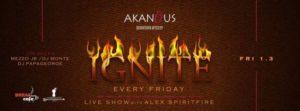 Ignite party στο Akanthus Club