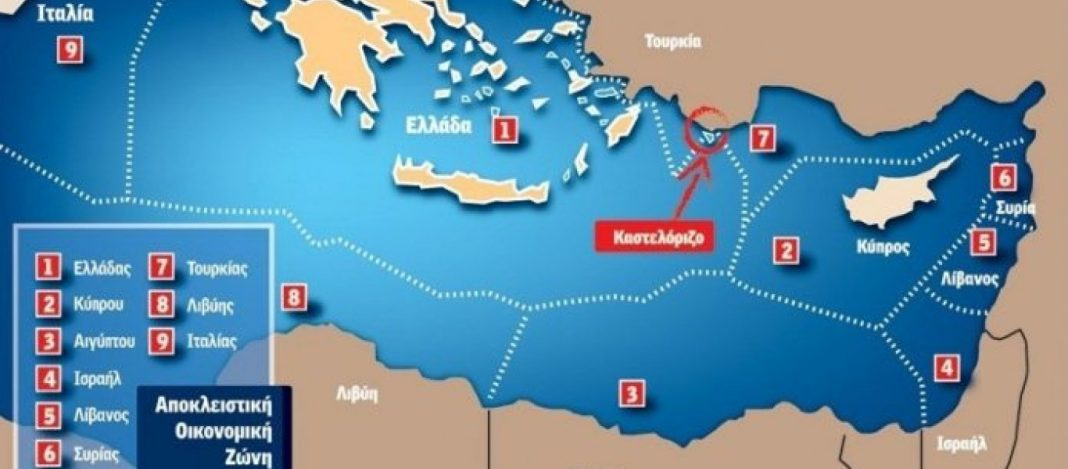 Image result for χάρτης Τουρκίας Λιβύης ΑΟΖ