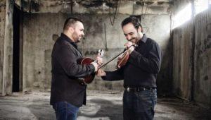 Κώστας Κορδατζάκης και Νίκος Συνολάκης στην ΘΡΑΚΑ στο Πέραμα Μυλοποτάμου